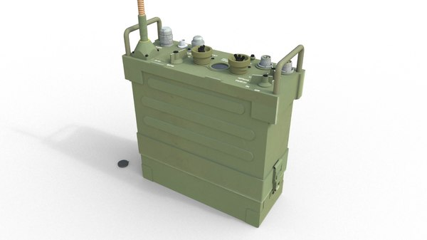 prc 77 radios 3d model