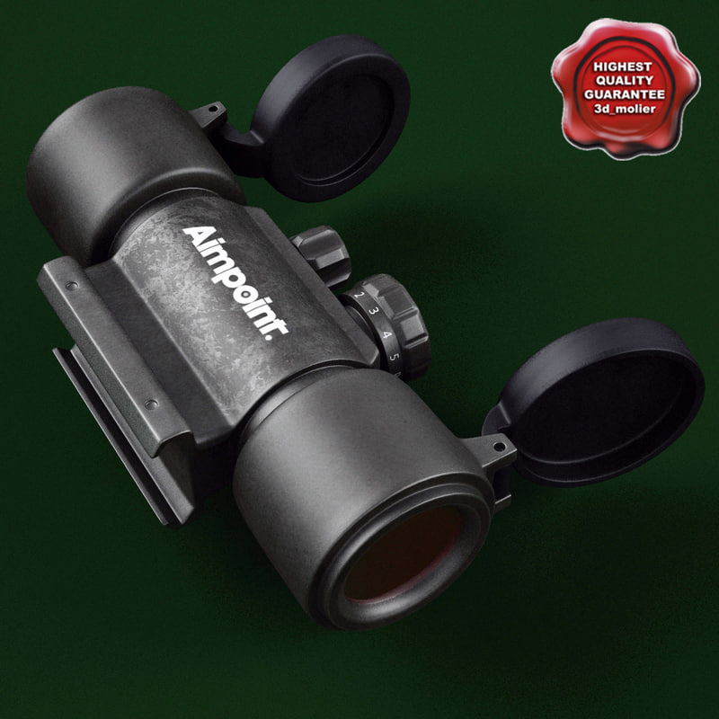 max red dot scope aimpoint