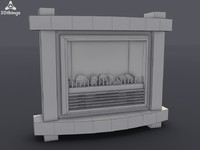 Stockholm Electric Fireplace