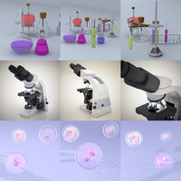In vitro - Microscope - Lab Equipment