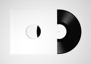 vinyl record 3d 3ds