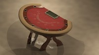 3d chip table