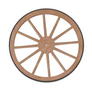 3d model old wheel