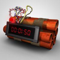 Dynamit Clock Bomb