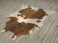 fur rug skin 3d model