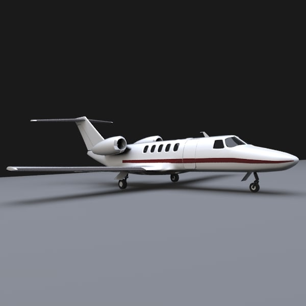 bussines cessna citation cj4 3d 3ds