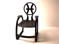 Zodiac Chair - Pisces