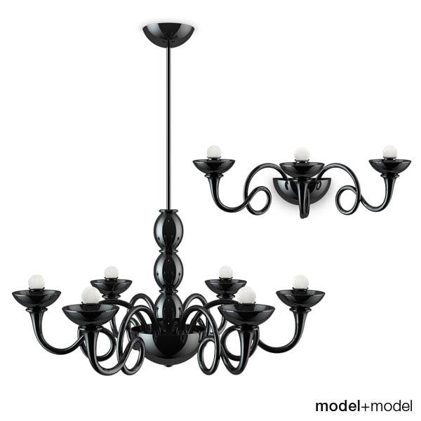 artemide pantalica lamps lights obj