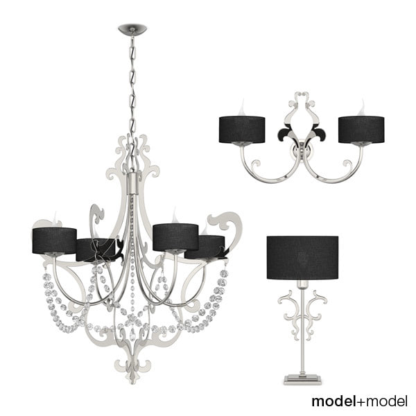 3d max cantori iago table lamps