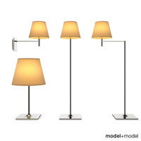 3d model flos ktribe soft table lamps