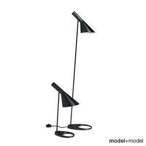 free louis poulsen aj floor 3d model