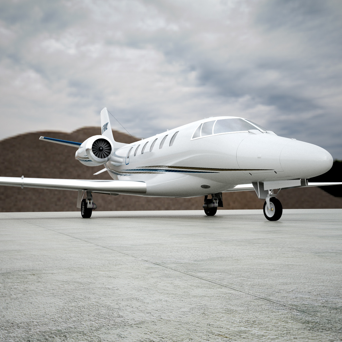3ds max business citation xls jet