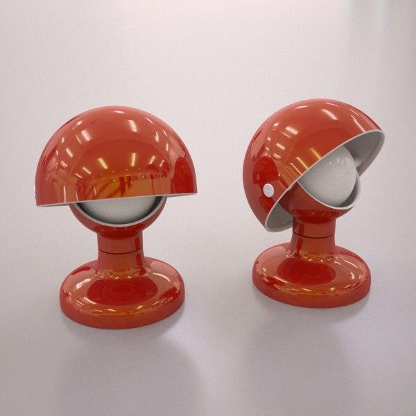 jucker flos lamp 3d model