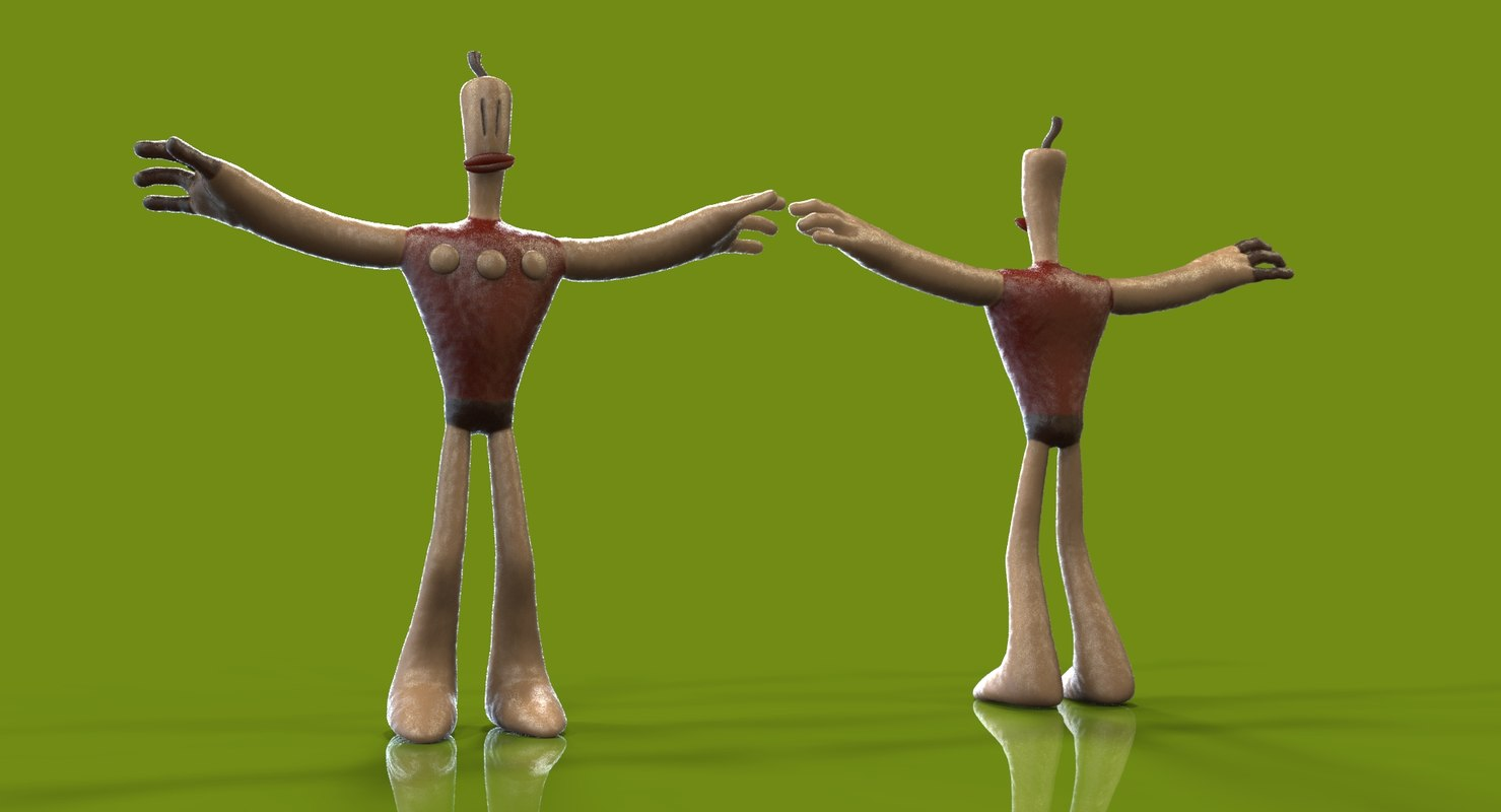 3d neverhood kleymen model