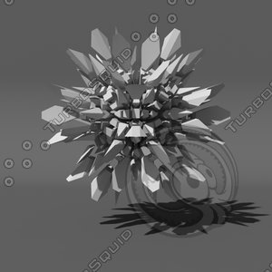 3d model voronoi tessellation abstract