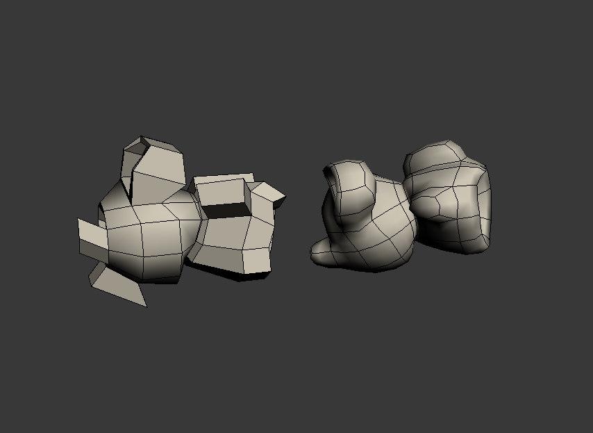 3d model popcorn