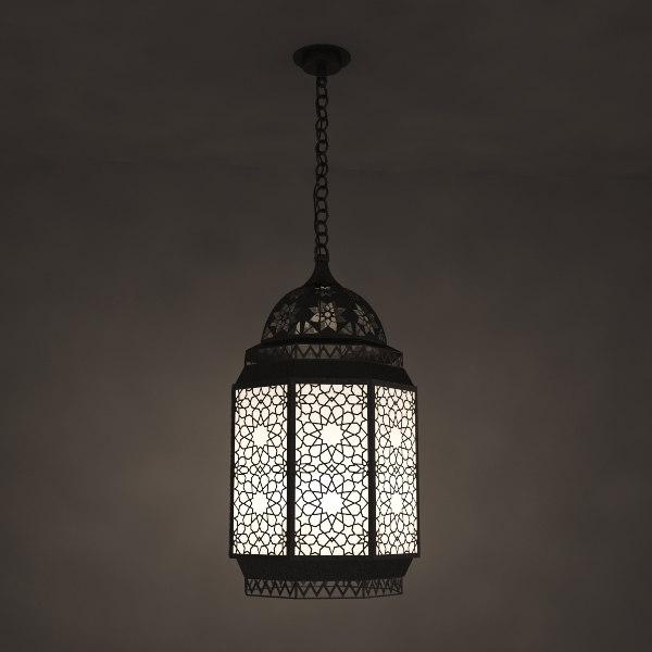 3ds max arabian lamp