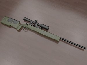 m40a3 sniper rifle 3ds free