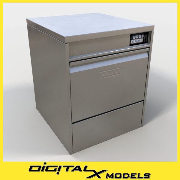 3ds commercial dishwasher 2