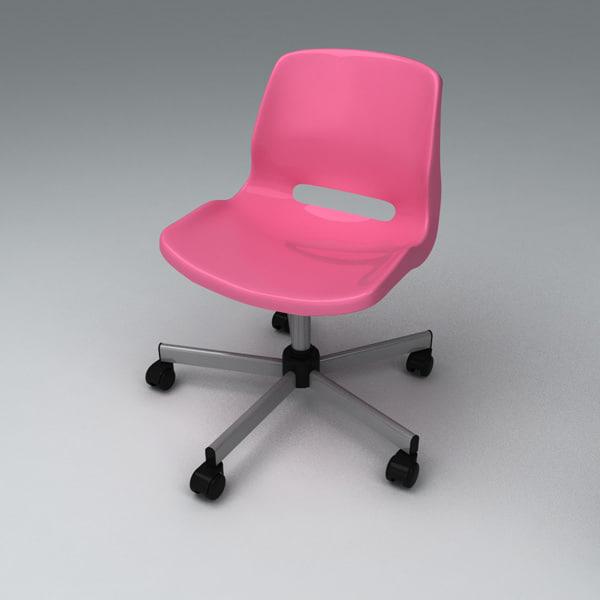 3d max snille chair chai