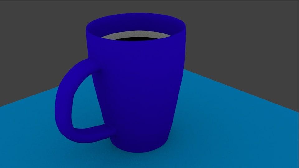 blender coffee cup