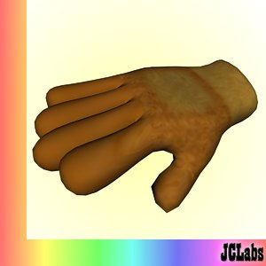 glove 3d model