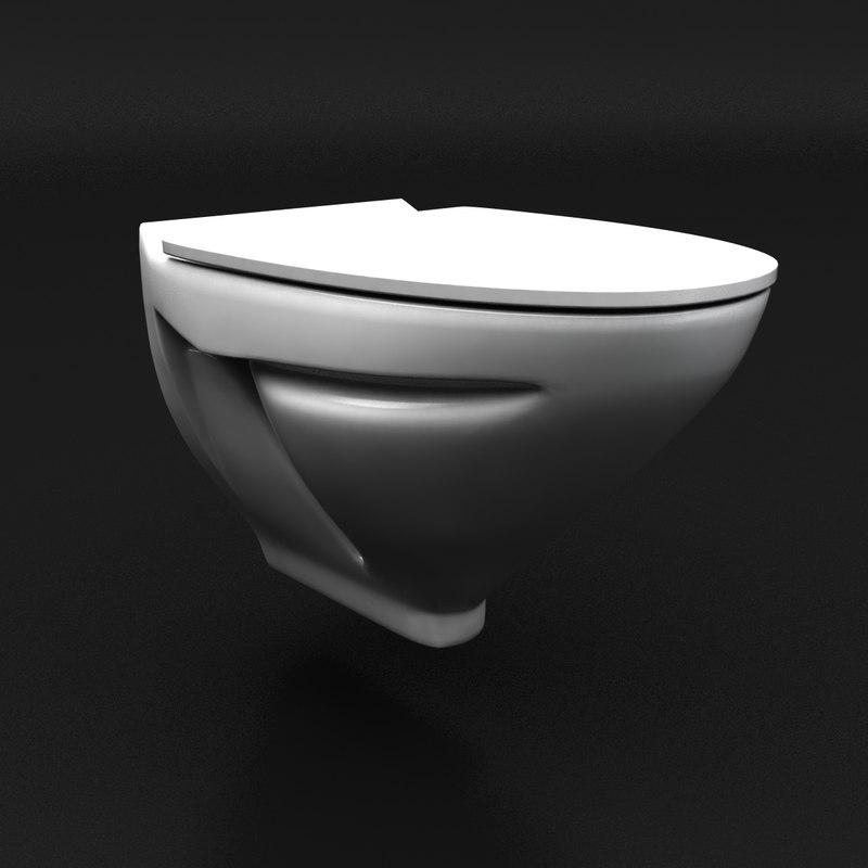 3d lavatory seat model