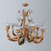 chandelier ornate 3ds