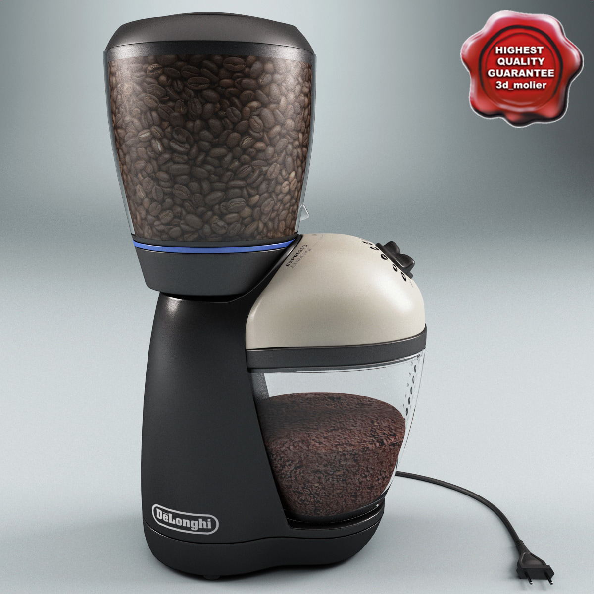 max coffee grinder delonghi kg59