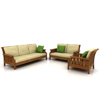 couch - panama sofas 3d max