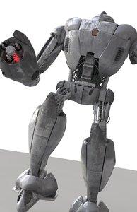 panic robot! 3d model