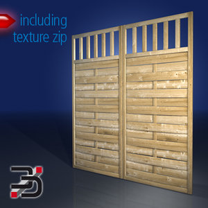 3ds max fence