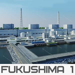 c4d nuclear power plant fukushima