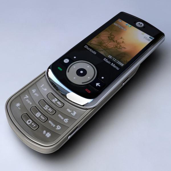 3d mobile phone motorola ve66 model