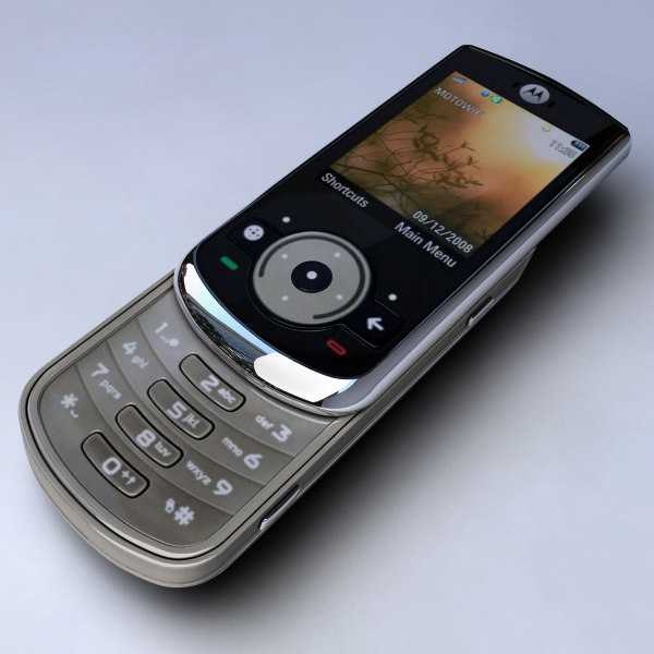 3d mobile phone motorola ve66 model