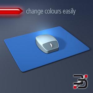 3d mouse mousepad