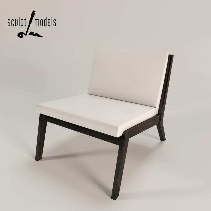 edge chair 3d model