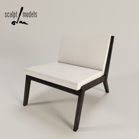 edge chair 3d model