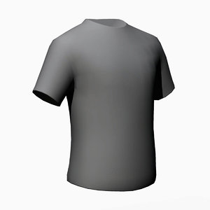 t-shirt games 3d model