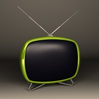 3ds max cartoon stylized tv
