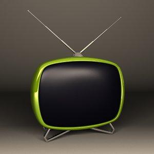 3ds max cartoon stylized tv