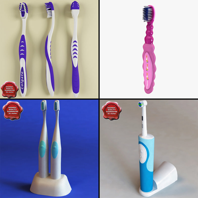 toothbrushs tooth brush 3d 3ds