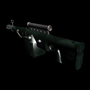 free max model sci-fi plasma rifle