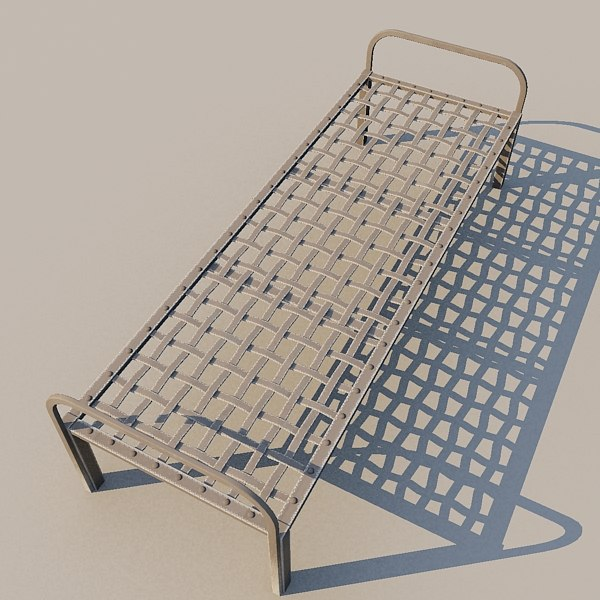 prison net cot 3d max