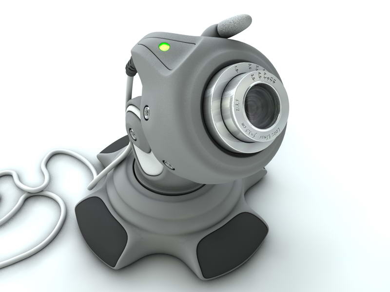 webcam 3d obj