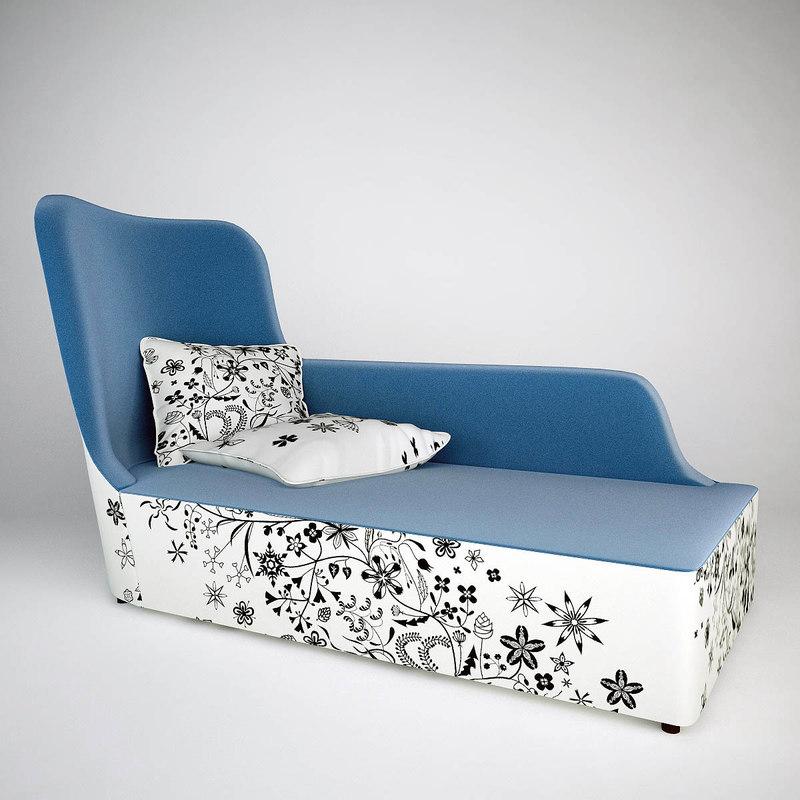 moroso closer chaise longue 3ds