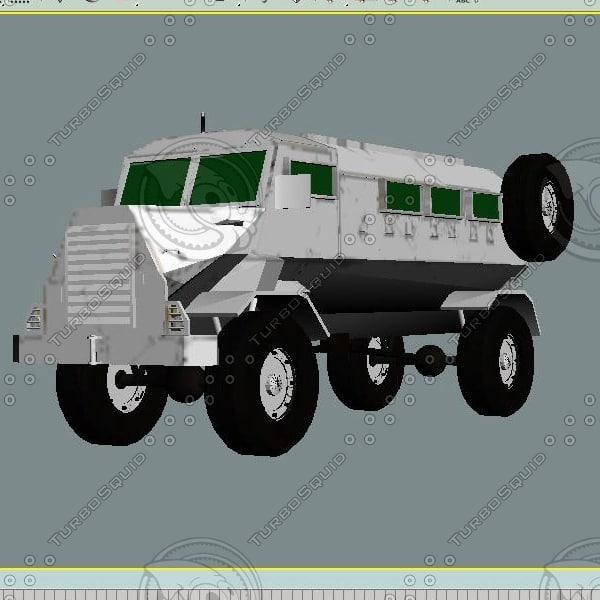 3d apc casspir model