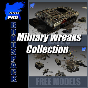 military wreaks 3d max