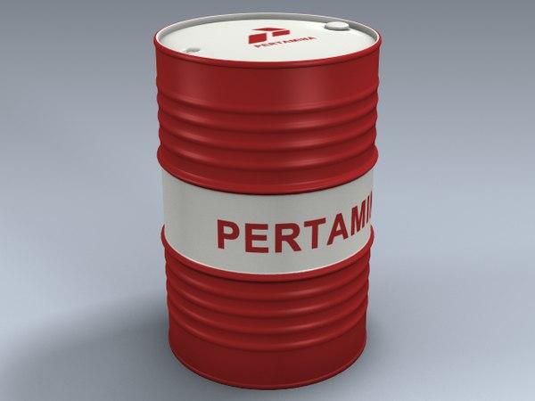 crude oil barrel max