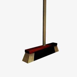 3d model broom households
